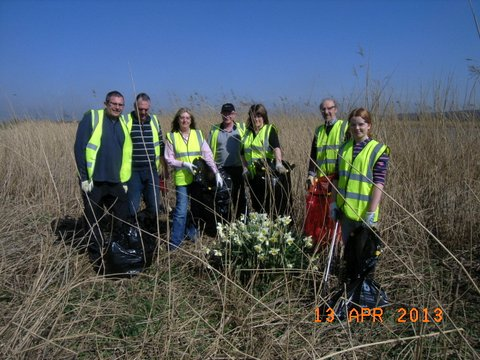Trent Bank Clean Up