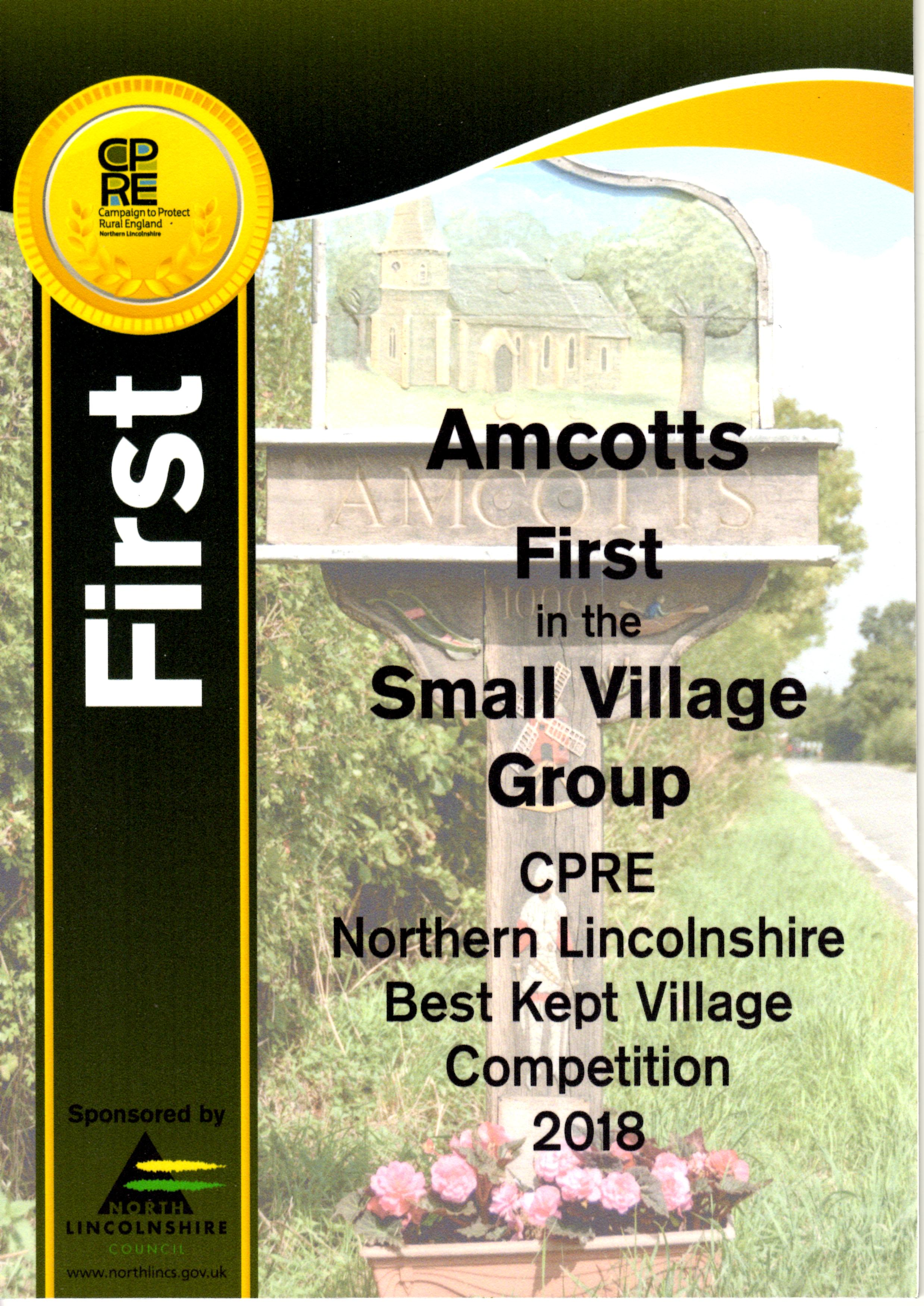First in Small Village Group